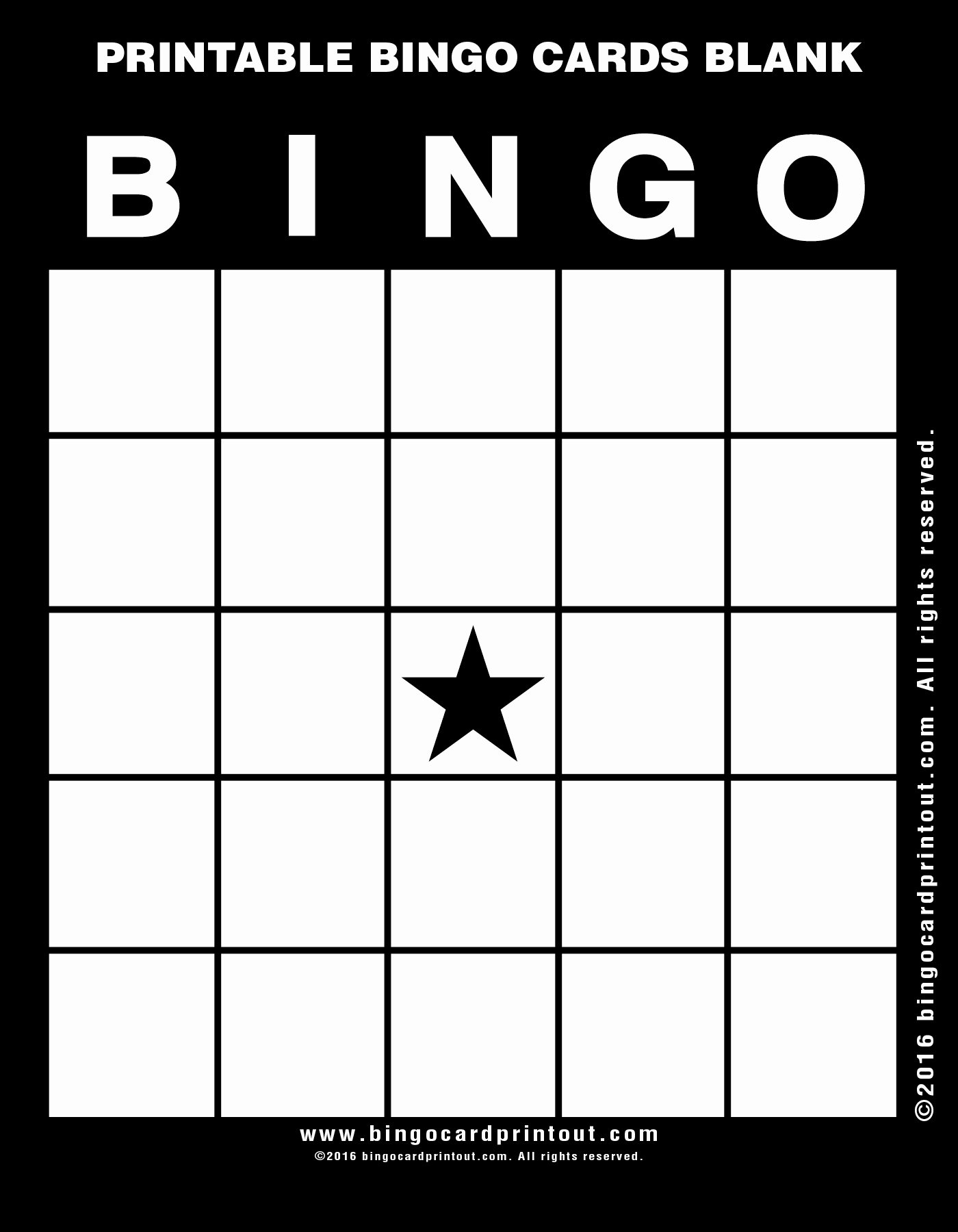Blank Printable Bingo Cards Fresh Printable Bingo Cards Blank Bingocardprintout