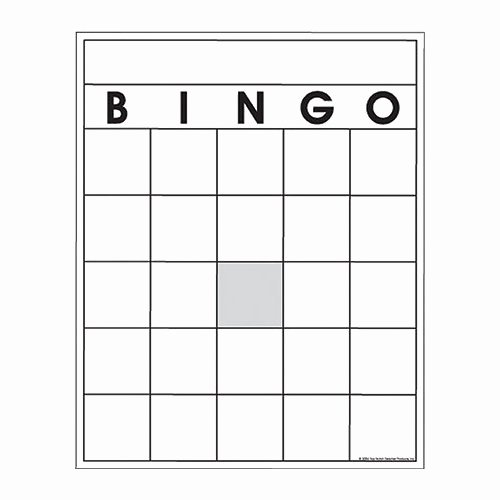 29 images of birthday bingo card blank template 7587