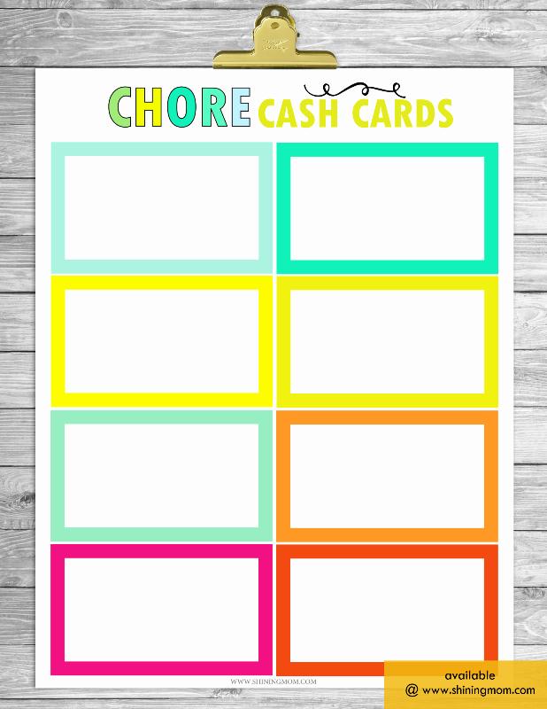 Blank Printable Chore Charts Inspirational Free Printable Chore Charts that Work