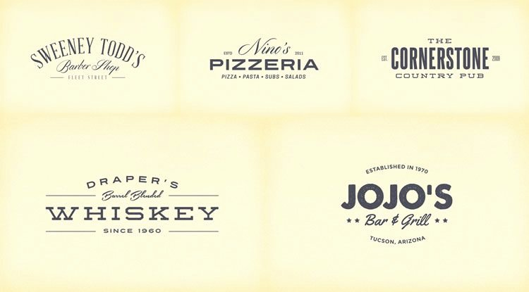 Blank Vintage Logo Template Lovely 10 Free Vintage Logo & Badge Template Collections