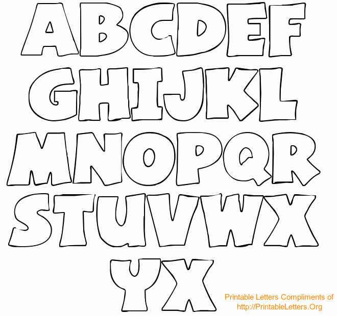 Block Letter Alphabet Template Elegant Mixer Printable Alphabets