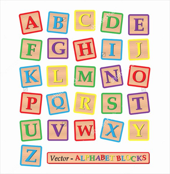 Block Letter Alphabet Template Luxury 20 Alphabet Letter Squares Template Free Psd Eps