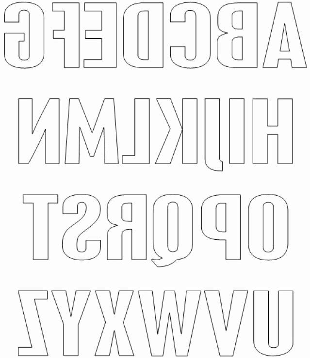 Block Letter Alphabet Template Unique 10 Images About Alphabet On Pinterest