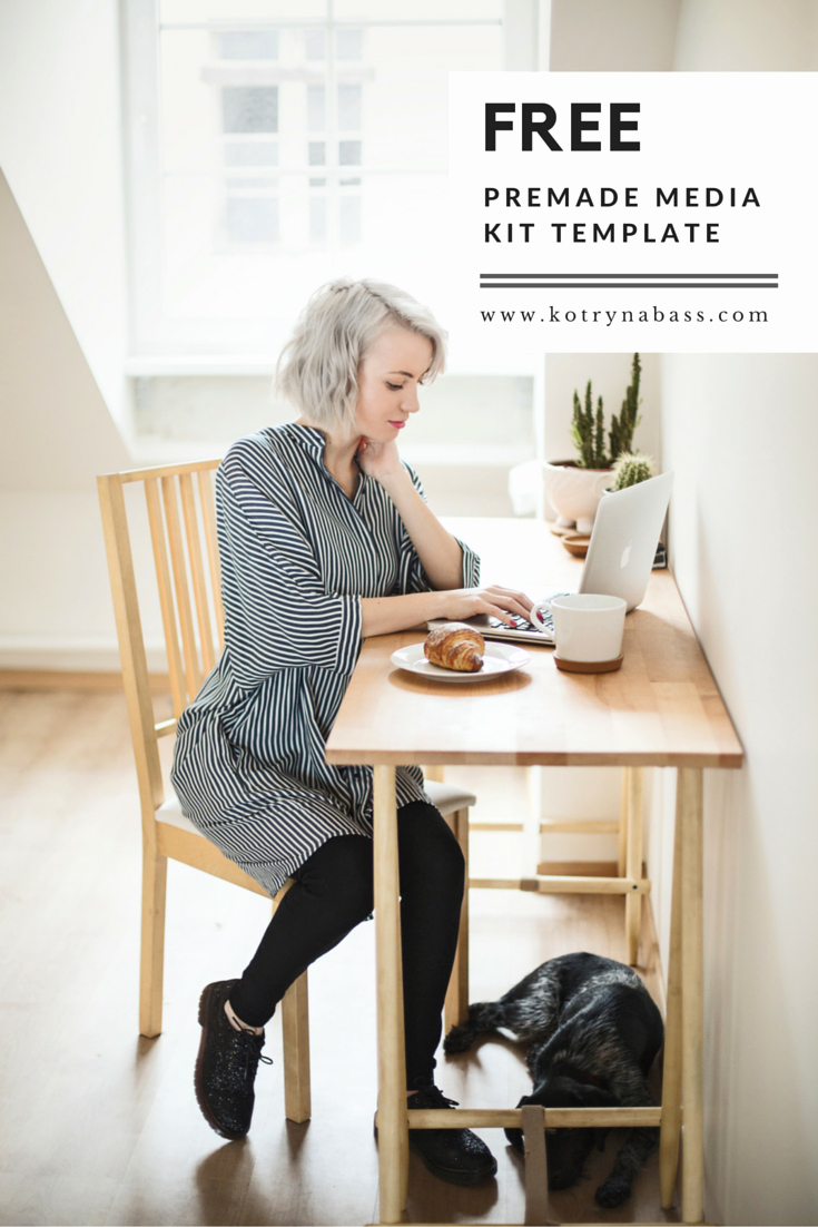 Blogger Media Kit Template Inspirational How to Create A Media Kit Template for Your Blog Free