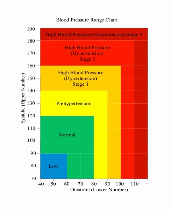 Blood Pressure Charts Fresh Sample Blood Pressure Chart 9 Examples In Pdf Word