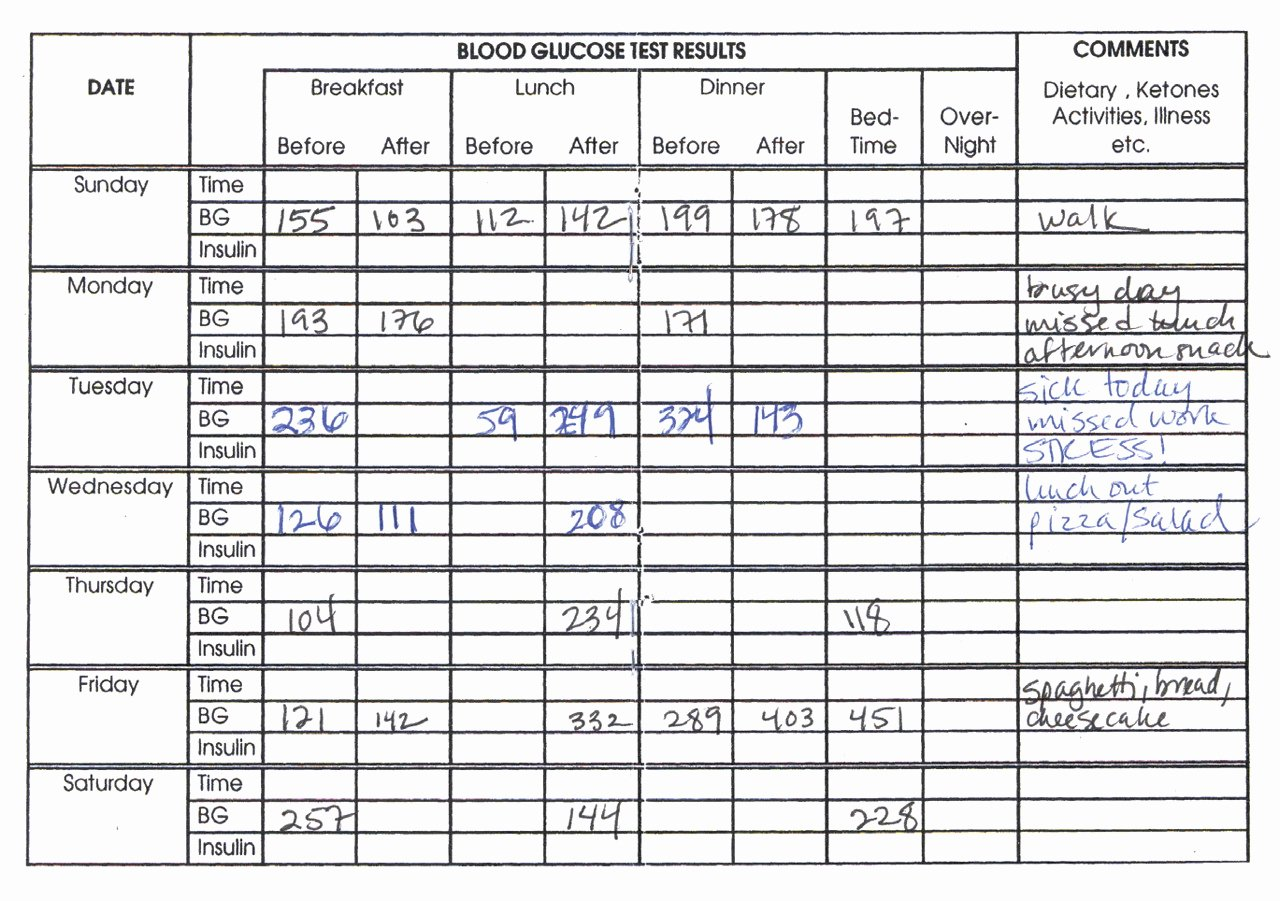 Blood Sugar Monitoring Log Best Of Blood Glucose Monitoring A Practical Guide for Use In the