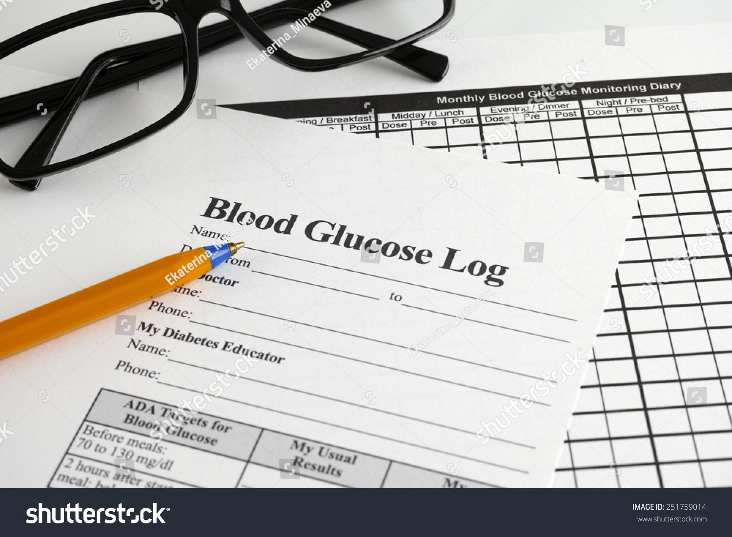 Blood Sugar Monitoring Log Unique Blood Glucose Log Monthly Blood Glucose Stock