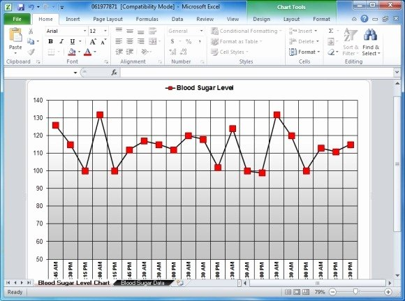 Blood Sugar Tracker Template Awesome Blood Sugar Tracker Template for Excel