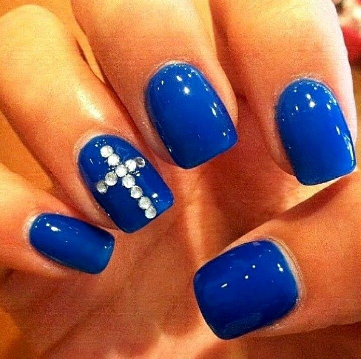Blue Nail Polish Designs Beautiful Best 25 Dark Blue Nails Ideas On Pinterest