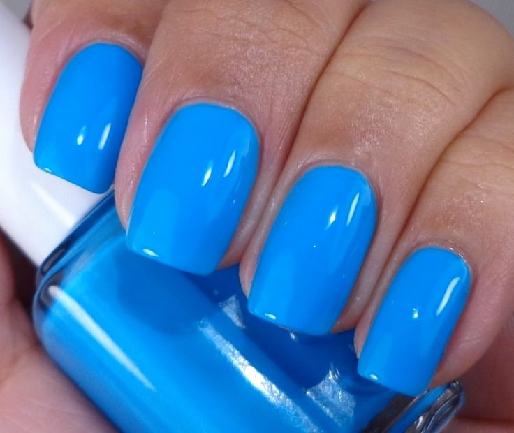 Blue Nail Polish Designs Beautiful Blue Nail Polish Designs 2015