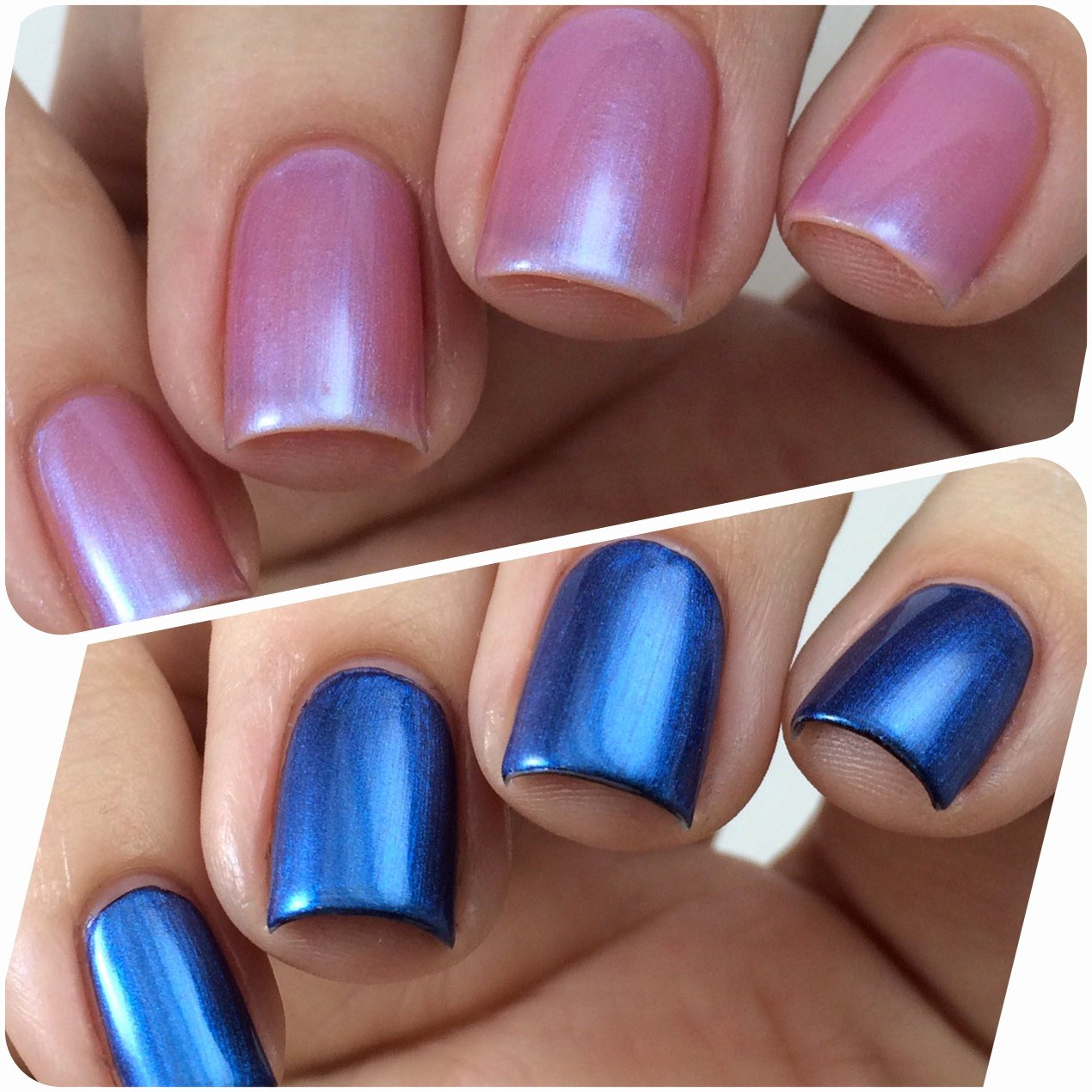Blue Nail Polish Designs Beautiful Color Changing Nail Polish Pink Nail Polish Blue Nail