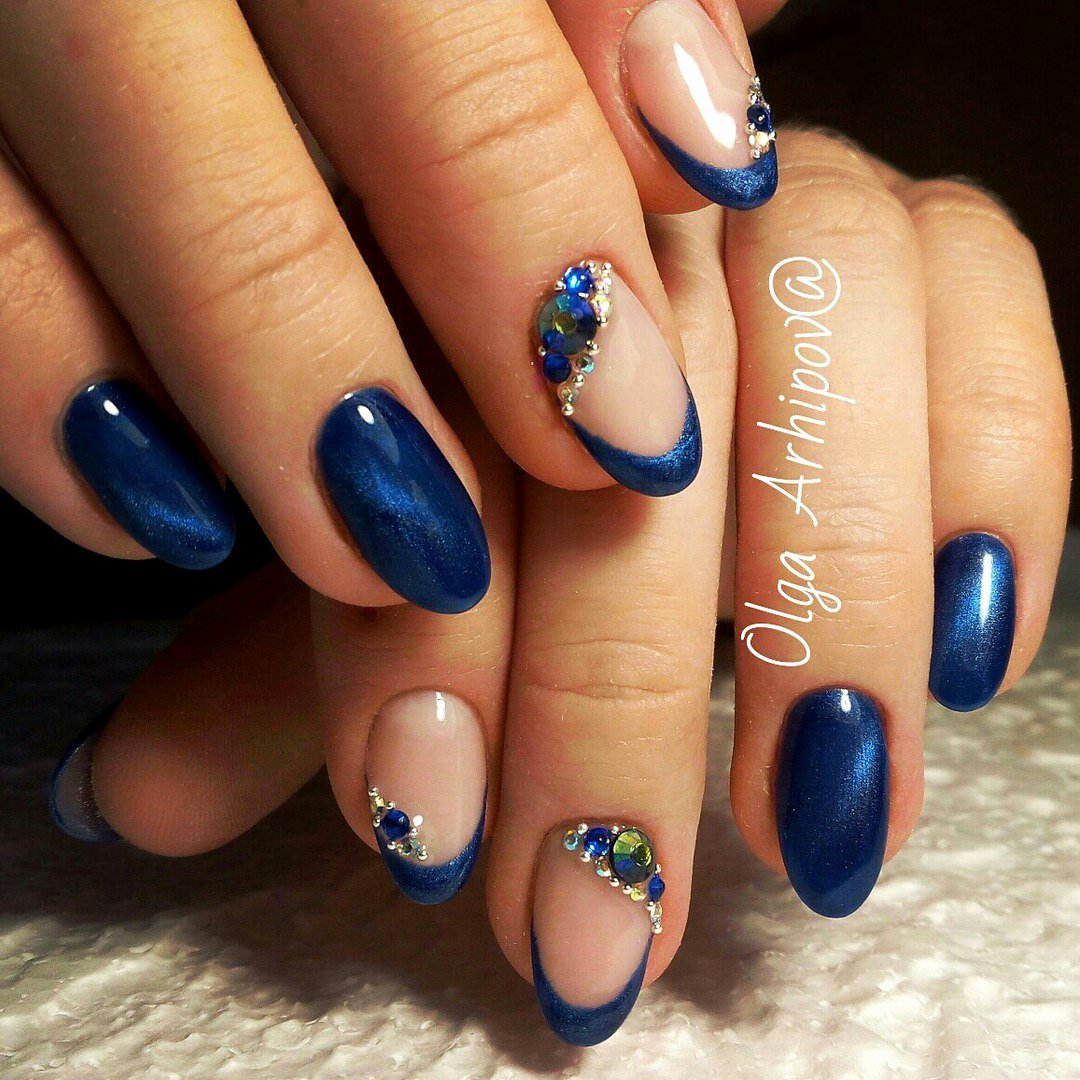 Blue Nail Polish Designs Beautiful Nail Art 2573 Best Nail Art Designs Gallery