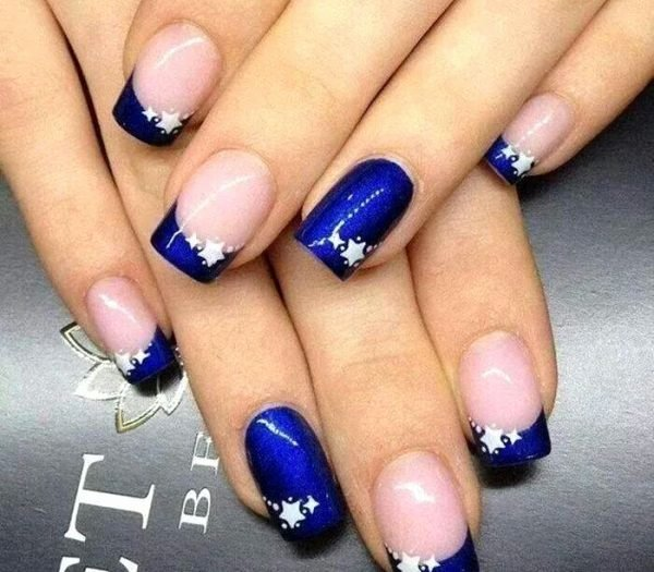 Blue Nail Polish Designs Best Of top 60 Navy Blue Nail Designs