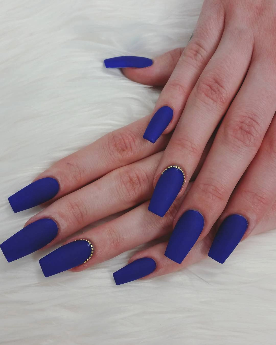 Blue Nail Polish Designs Elegant 21 Royal Blue Nail Art Designs Ideas