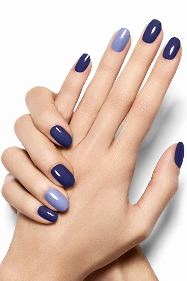 Blue Nail Polish Designs Unique 25 Best Ideas About Blue Nails On Pinterest