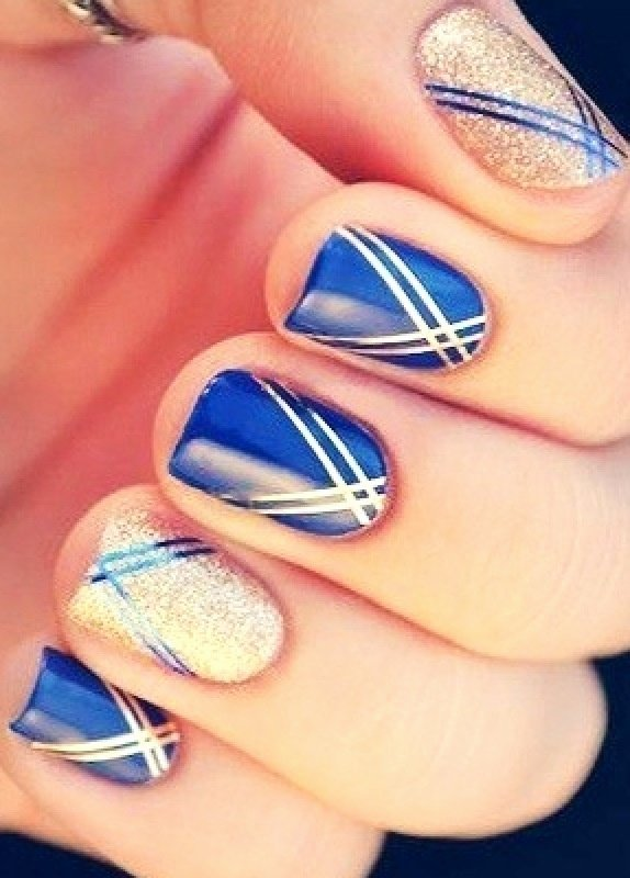 Blue Nail Polish Designs Unique 25 Best Ideas About Royal Blue Nails On Pinterest