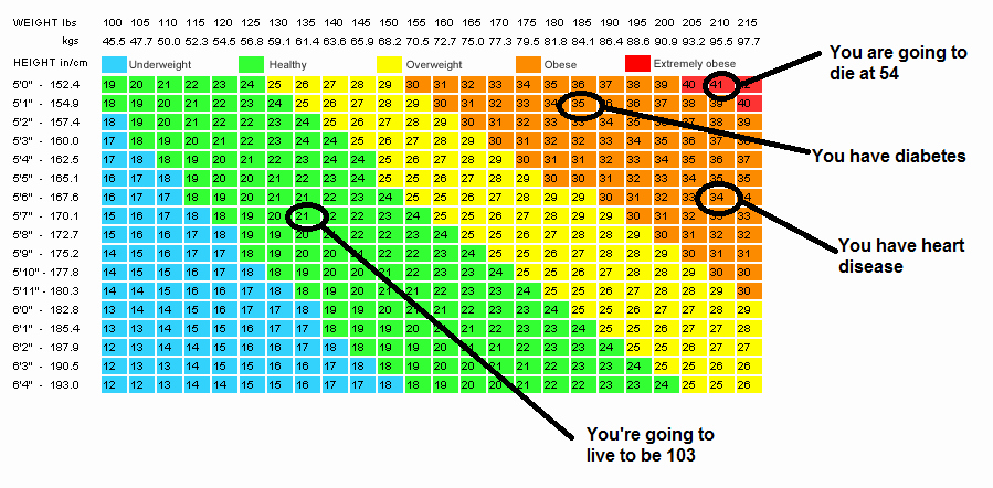 Bmi and Body Fat Chart Inspirational if You Ever Fun Fact Friday Fat Does Not Mean