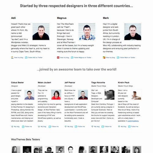 Board Member Bio Template Elegant Meet the Team Pages Examples and Trends — Smashing Magazine