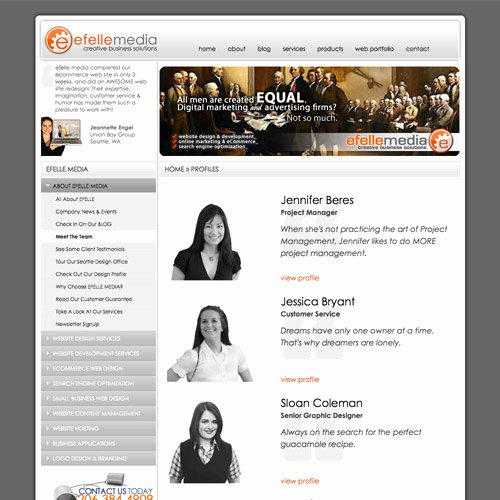 Board Member Bio Template Inspirational Meet the Team Pages Examples and Trends — Smashing Magazine