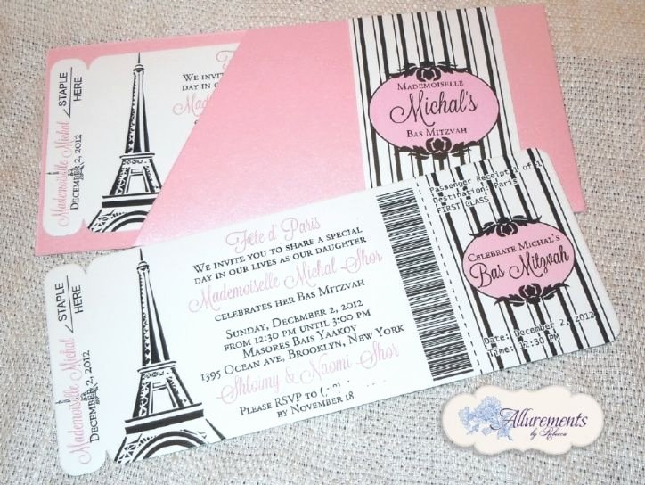 Boarding Pass Birthday Invitations Elegant Boarding Pass Invitations From Allurements by Rebecca