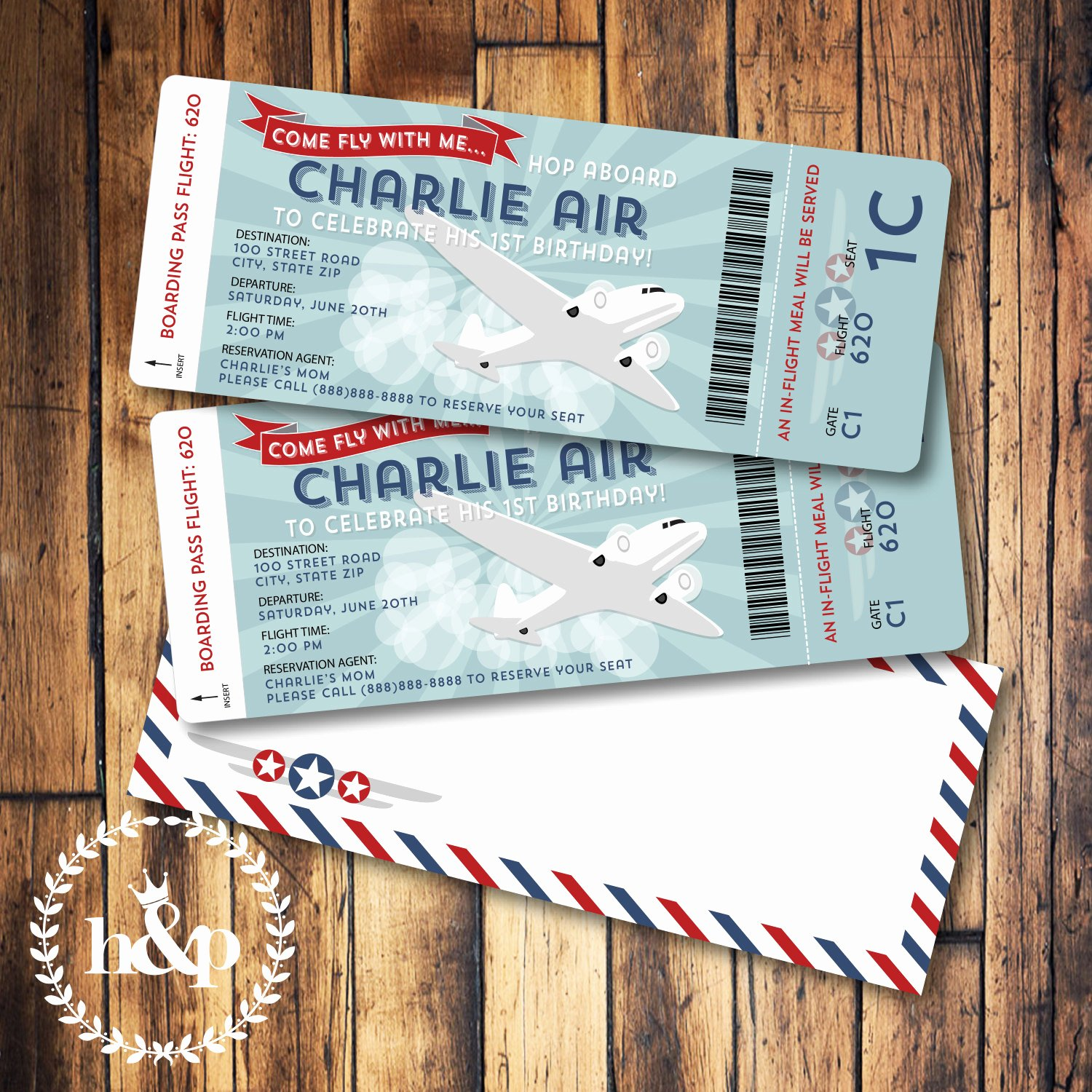 Boarding Pass Birthday Invitations Unique Airplane Birthday Invitation Boarding Pass and by