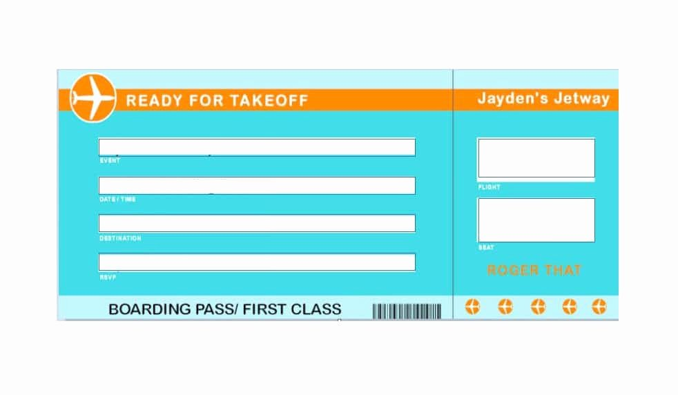 Boarding Pass Template Free Best Of 16 Real & Fake Boarding Pass Templates Free