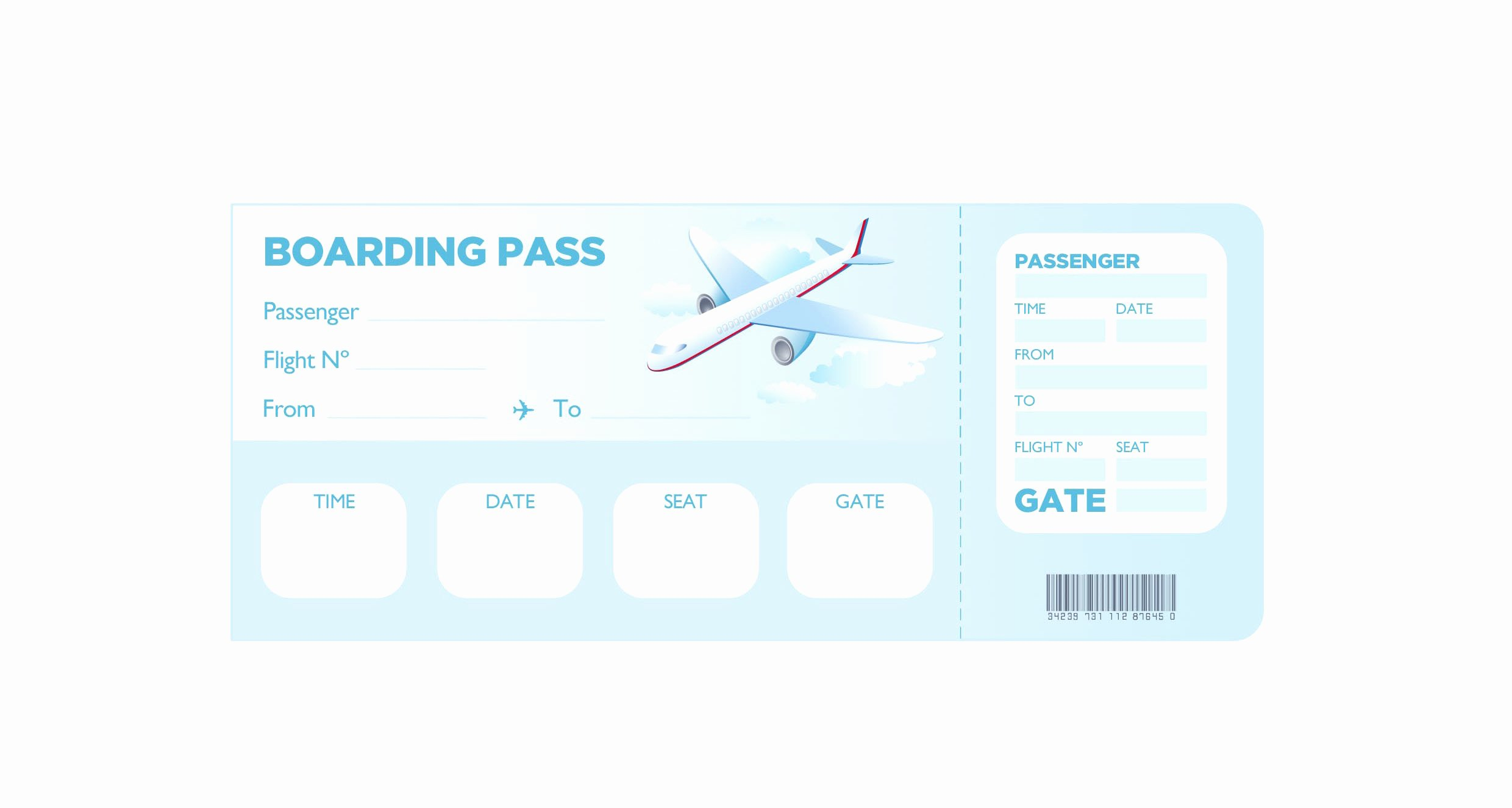 Boarding Pass Template Free Inspirational Super Fun Summer Challenge 2014 Week 3 – Her Life Inspired