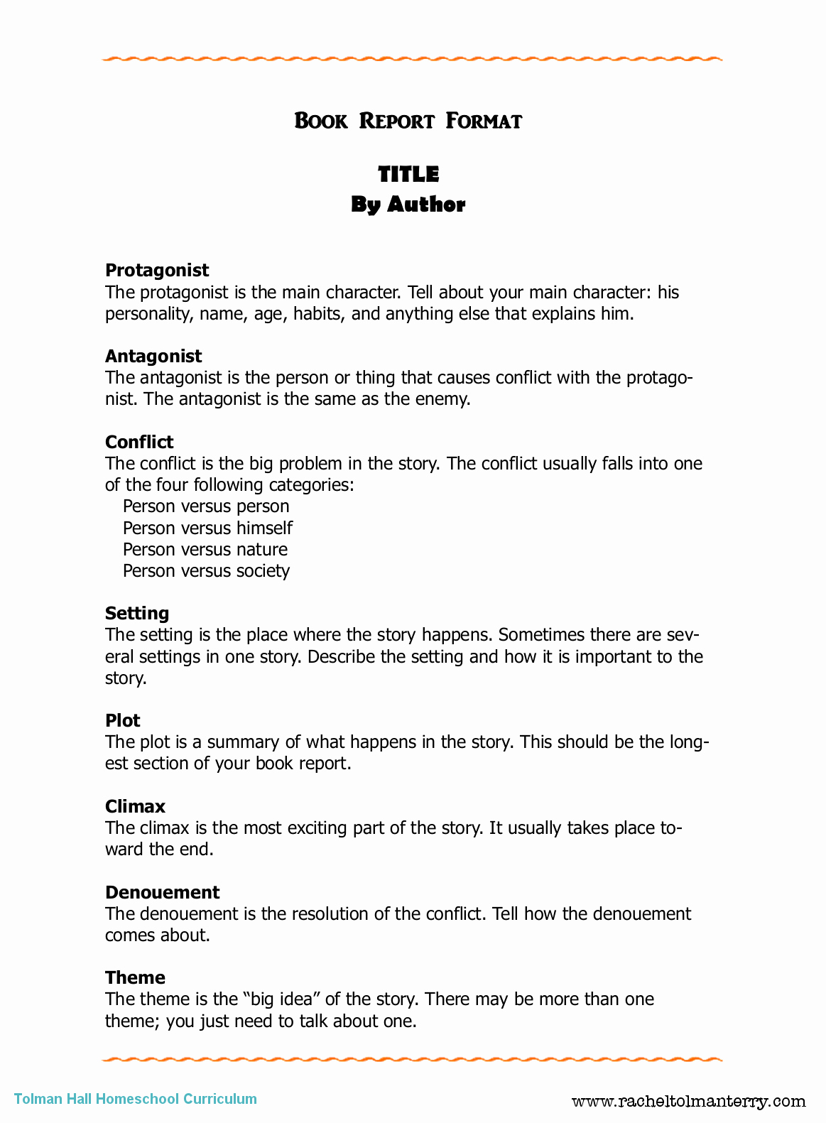 Book Analysis format Sample Elegant Book Report format Can Be Used for Personal or assigned