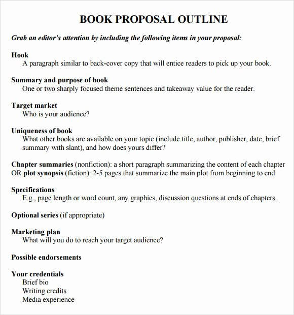 Book Analysis format Sample Unique How to Write An Outline for A Book Template