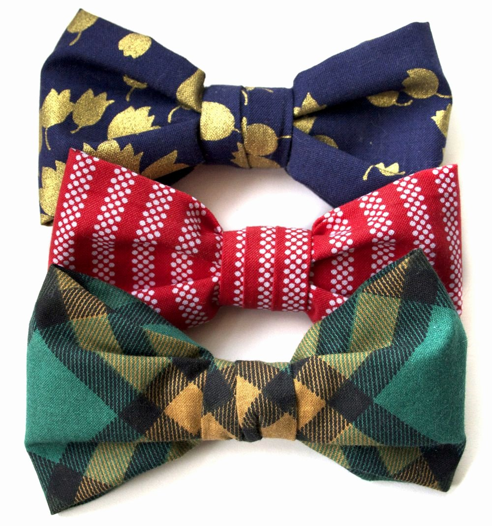 Bow Tie Patterns Beautiful Apr 5 How to Make A Clip Bow Tie