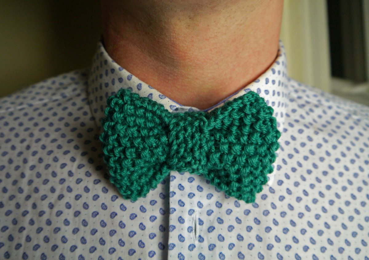 Bow Tie Patterns Luxury Knit A Dapper Bow Tie – Julie & the Knits