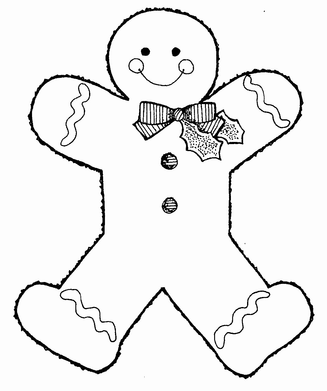 Boy and Girl Template Inspirational Free Printable Gingerbread Man Coloring Pages for Kids