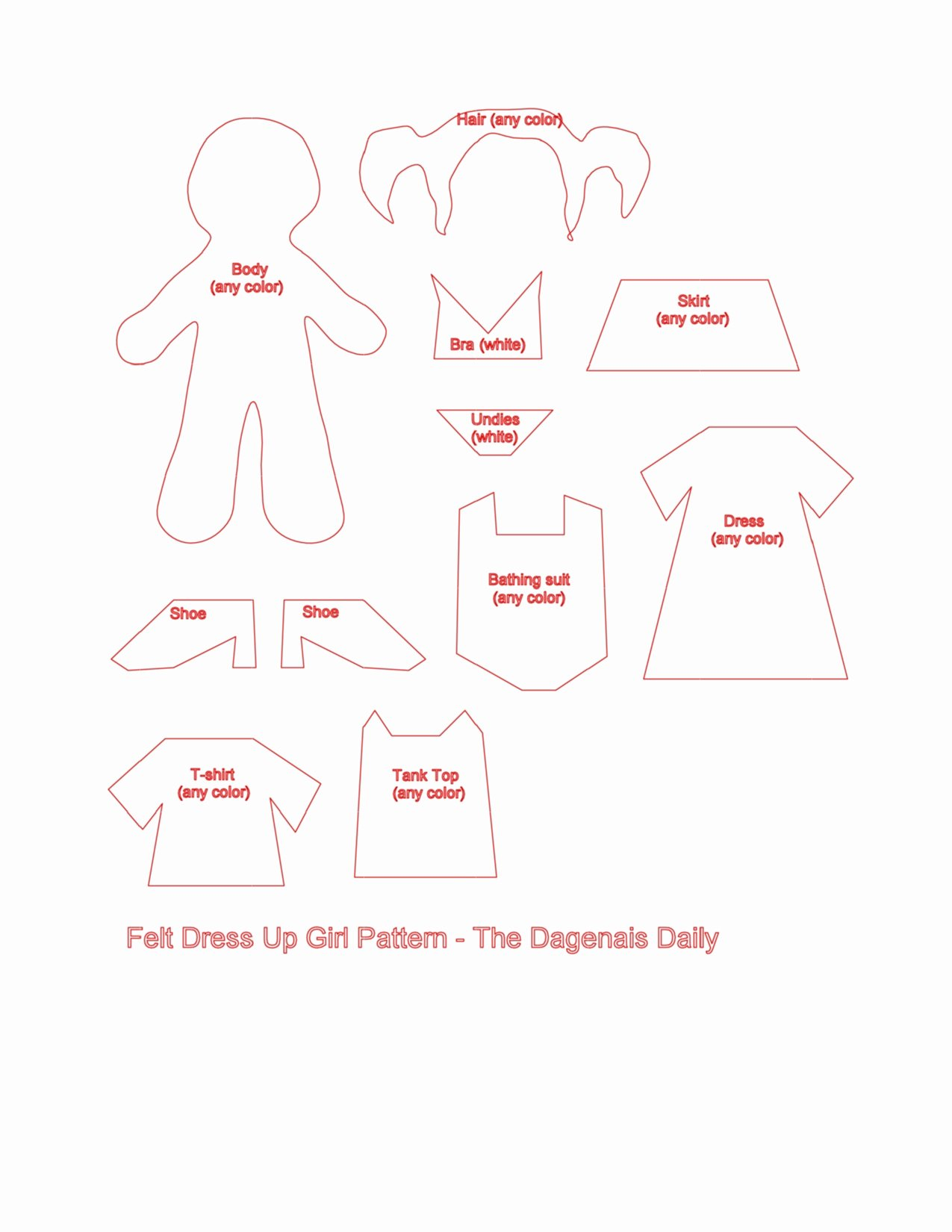 Boy and Girl Template Unique Felt Mr Mrs Potato Head and Boy Girl Dress Up Sets