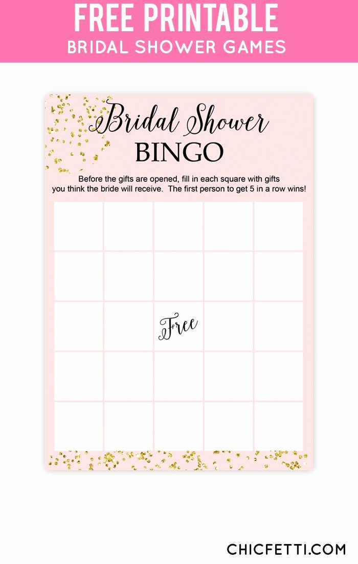 Bridal Shower Bingo Template Free Awesome 25 Best Ideas About Bridal Shower Bingo On Pinterest