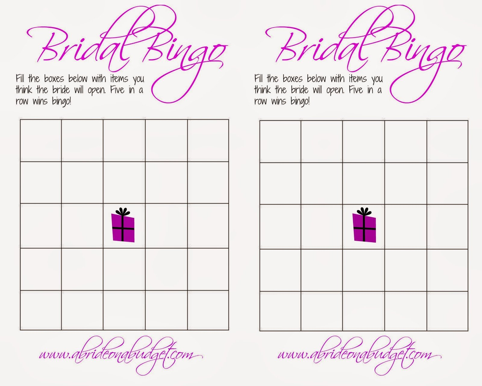 Bridal Shower Bingo Template Free Fresh 7 Ways to Save Money On Your Wedding Love Laughter