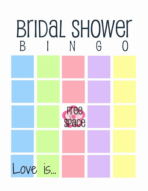Bridal Shower Bingo Template Free Luxury 12 Free Bridal Shower Bingo Template All Free Template