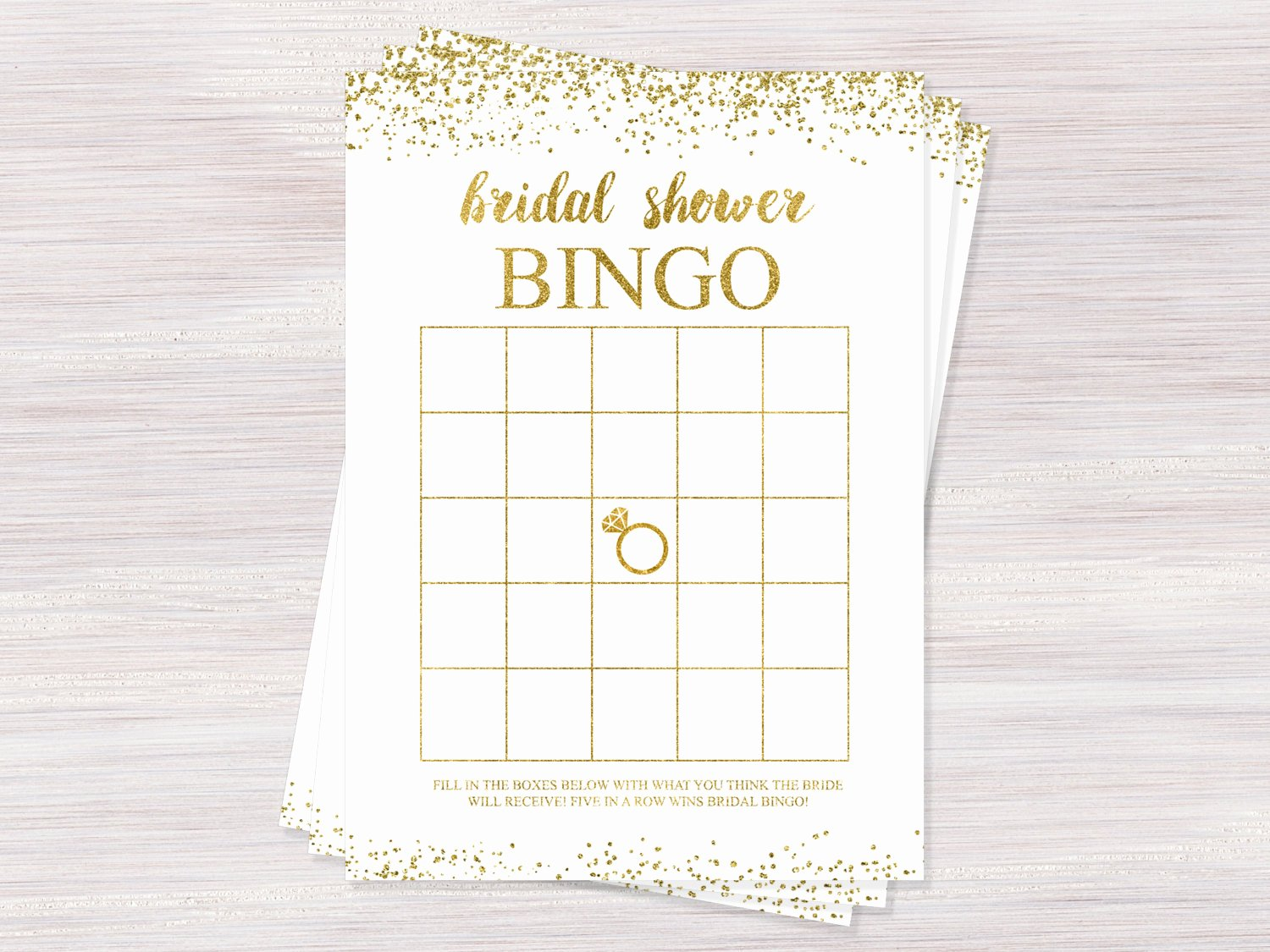 Bridal Shower Bingo Template Free Luxury Bridal Bingo Bridal Shower Games Bingo Cards Printable