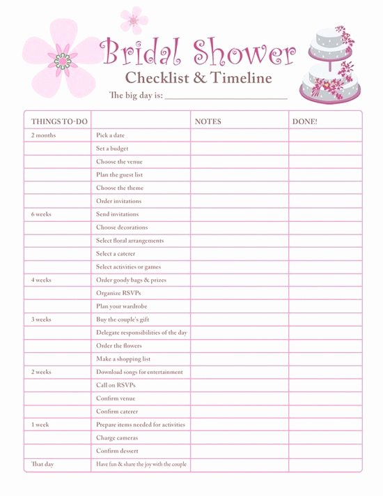 Bridal Shower Checklist Printable Lovely 212 Best Bachelorette Party Images On Pinterest