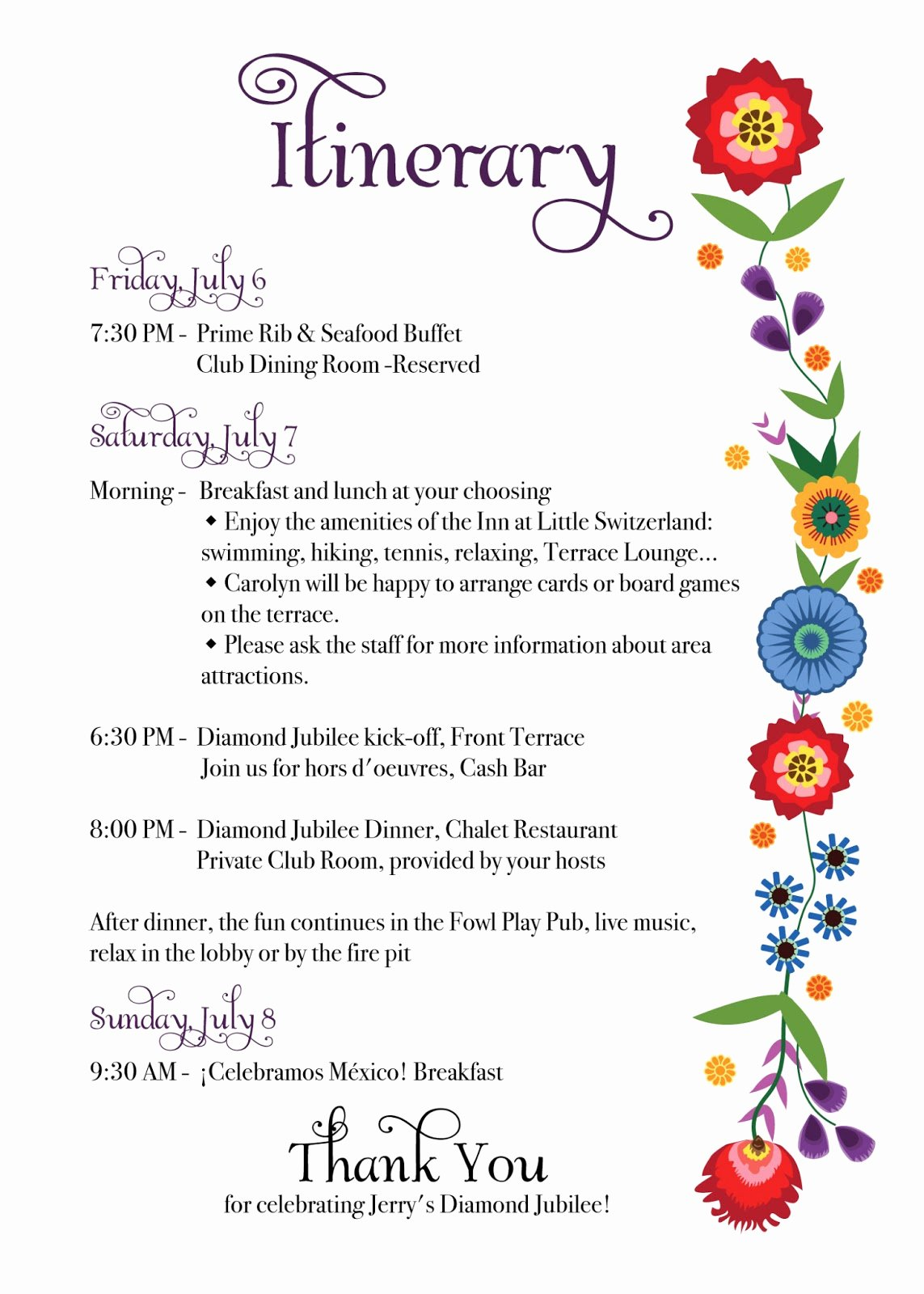 Bridal Shower Program Sample Awesome Rkdesigns Jerry S Jubilee Folk Art Inspired Invites