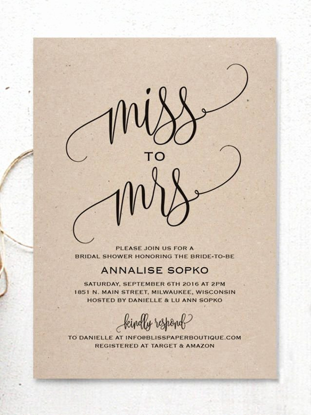 Bridal Shower Program Sample Elegant 17 Printable Bridal Shower Invitations You Can Diy