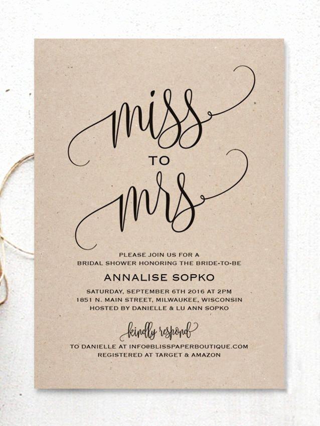 Bridal Shower Program Sample Elegant 17 Printable Bridal Shower Invitations You Can Diy