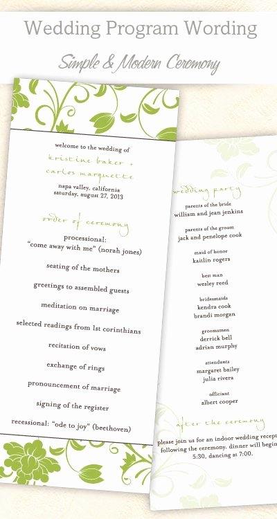 Bridal Shower Program Sample Fresh 337 Best Images About Craft Ideas Wedding Cards and