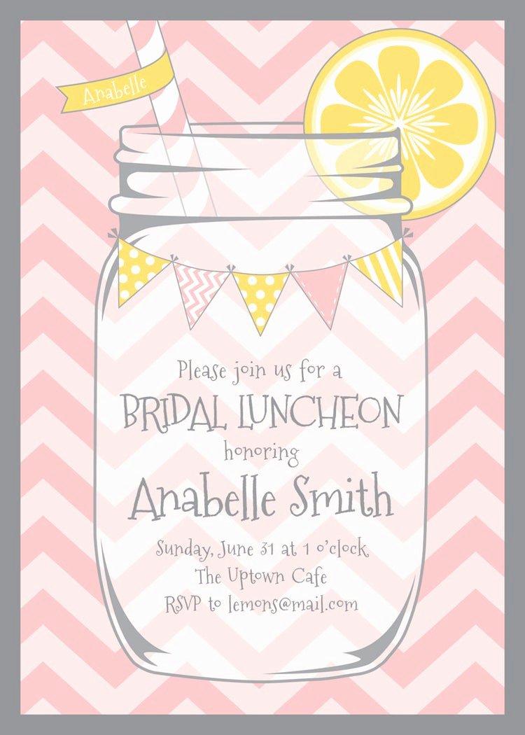 Bridal Shower Program Sample Lovely Mason Jar and Chevrons Invitation by Lemonadedesignstudio