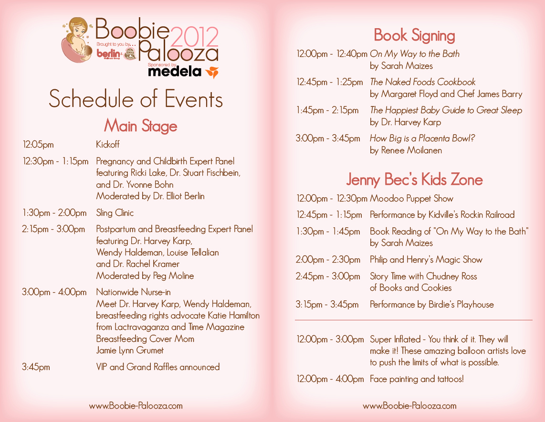 Bridal Shower Program Sample Luxury Baby Shower Agenda Bp Program Schedule