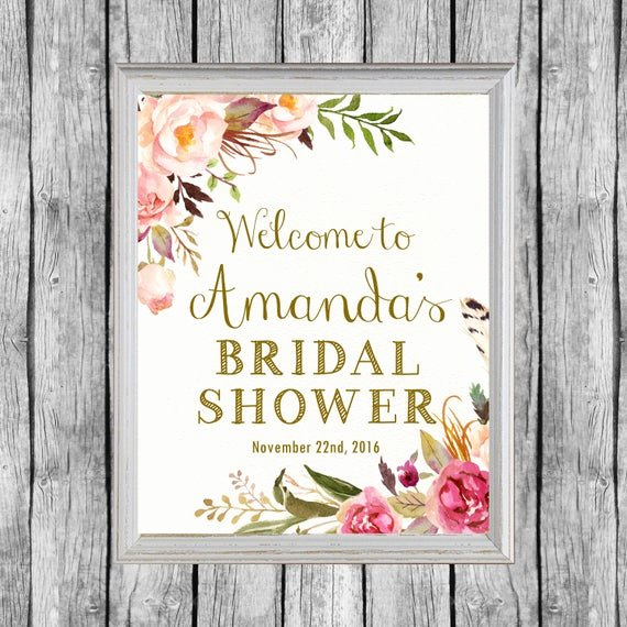 Bridal Shower Signs Printable Fresh Bridal Shower Wel E Sign Bridal Shower Door Sign Bridal