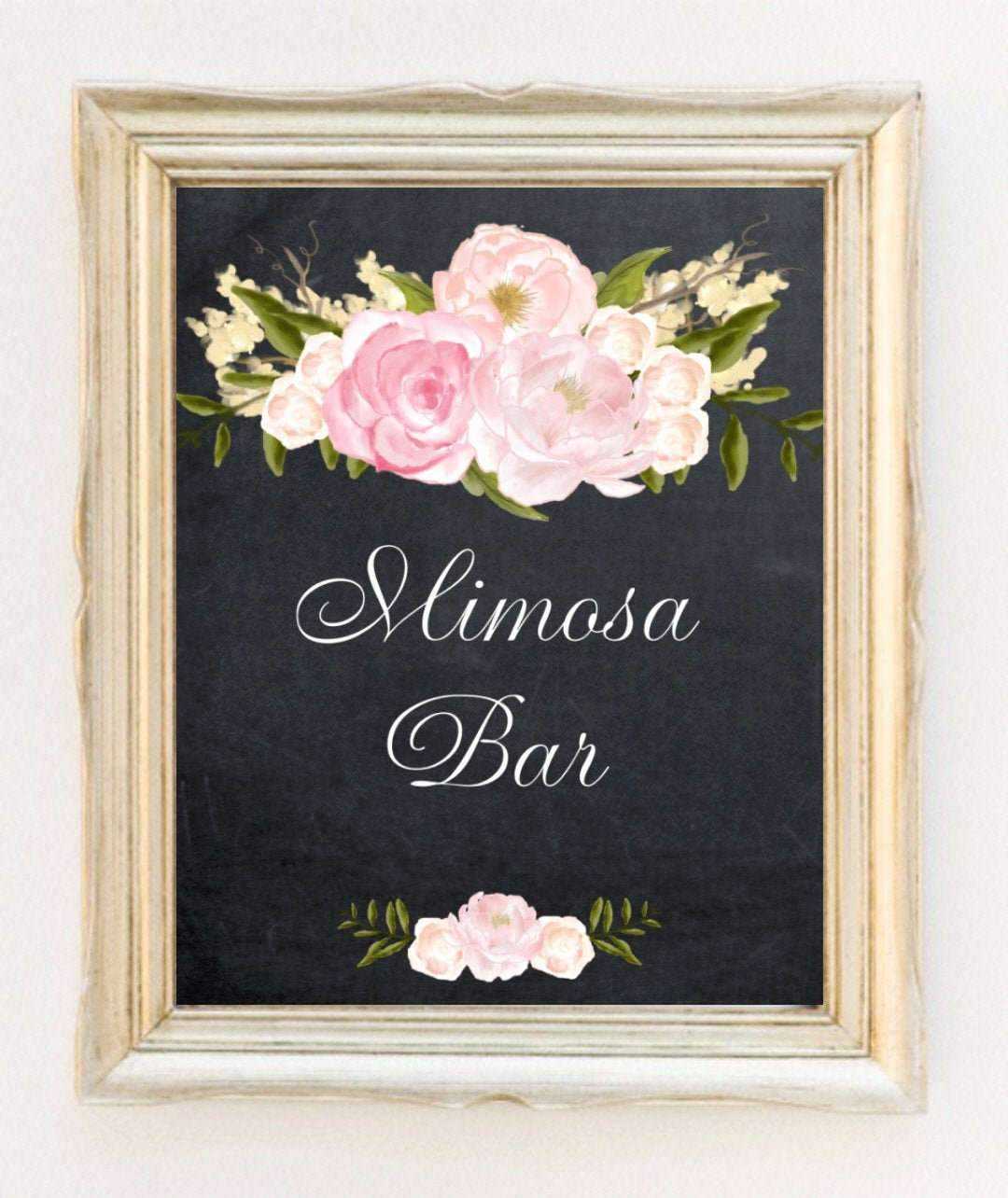 Bridal Shower Signs Printable Fresh Printable Mimosa Bar Sign Digital Mimosa Sign Bridal Shower