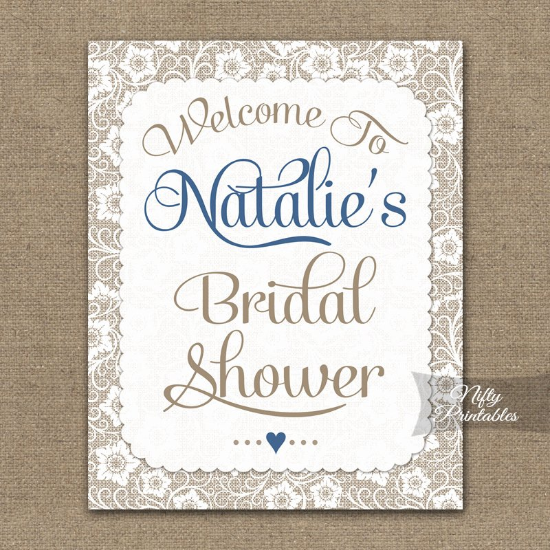 Bridal Shower Signs Printable Unique Printable Bridal Shower Signs & Banners