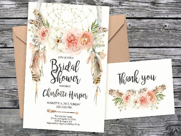Bridal Shower Thank You Examples Elegant 62 Thank You Card Examples