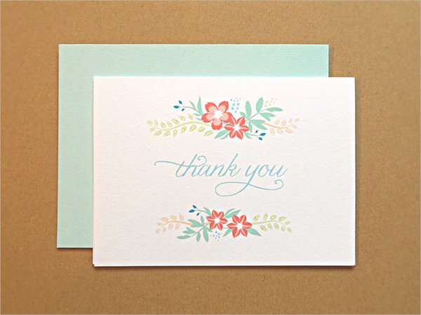Bridal Shower Thank You Template Beautiful 7 Bridal Shower Thank You Card Psd Vector Ai Eps