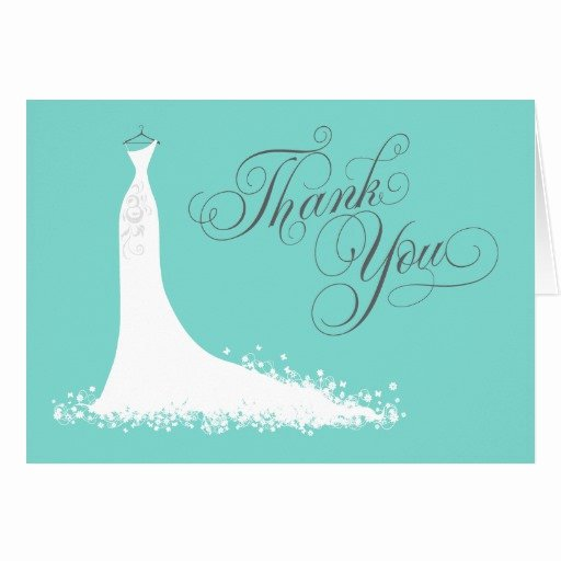 Bridal Shower Thank You Template Best Of Bridal Shower Thank You Card Folded